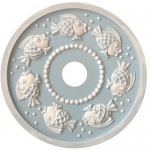 Marie Ricci Bubbly Fish Ceiling Medallion