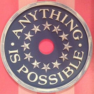 Anything Is Possible Ceiling Medallions