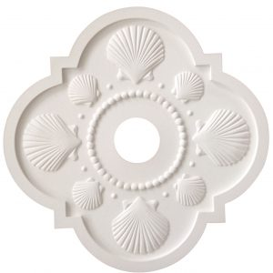 Seashell Ceiling Medallion