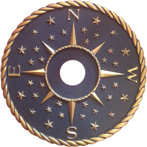 Compass Ceiling Medallion Actual Direction – Copy