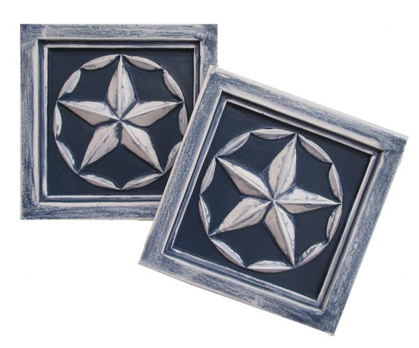 star accent plaques