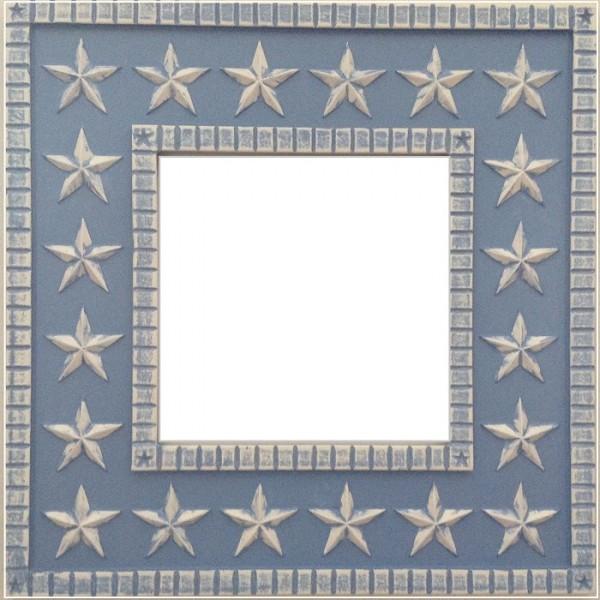 star mirror lt. blue