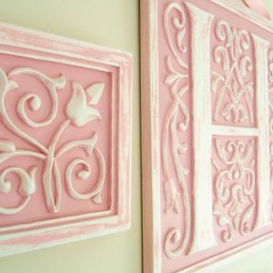 Children's Letter Plaques – Resin